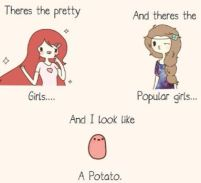like a potato